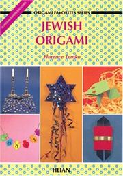 Cover of: Jewish Origami (My Favorite Origami) | Florence Temko
