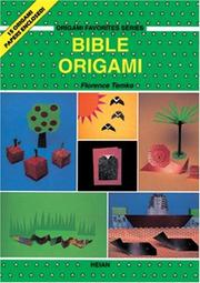 Cover of: Bible Origami (Origami Favorites) | Florence Temko