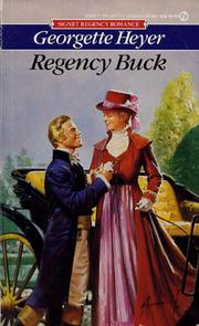 Cover of: Regency Buck | Georgette Heyer