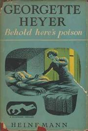 Cover of: Behold, here's poison: Inspectors Hannasyde & Hemingway 2