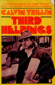 Cover of: Third helpings