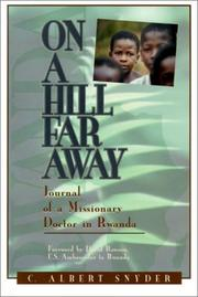 Cover of: On a hill far away | C. Albert Snyder
