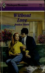 Cover of: Without love