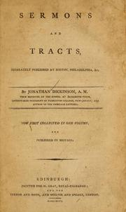 Cover of: Sermons and tracts, separately published at Boston, Philadelphia, &c