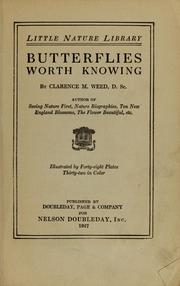 Cover of: Butterflies worth knowing