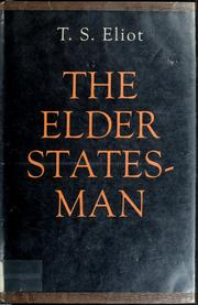 Cover of: The elder statesman: a play.