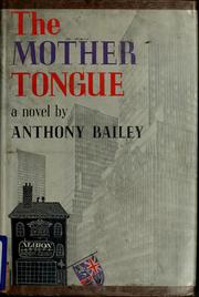 Cover of: The mother tongue