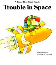 Cover of: Trouble in space | Rose Greydanus