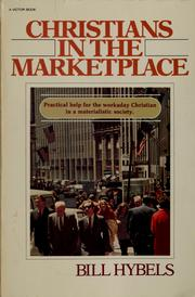 Cover of: Christians in the marketplace