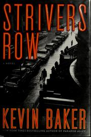 Cover of: Strivers row | Kevin Baker