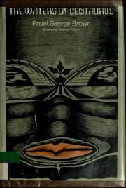 Cover of: The waters of Centaurus