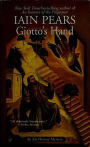 Cover of: Giotto's hand