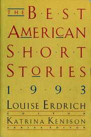 Cover of: The best American short stories 1993