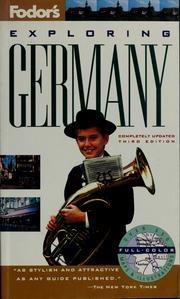 Cover of: Fodor's exploring Germany