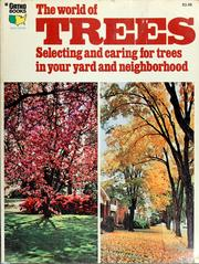 Cover of: The world of trees