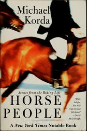 Cover of: Horse people