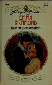 Cover of: Law Of Possession
