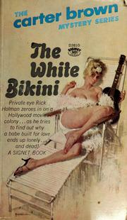 Cover of: The White Bikini | Carter Brown