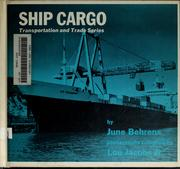 Cover of: Ship cargo