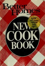 Cover of: Better homes and gardens new cook book | Sandra Granseth
