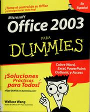 Cover of: Office 2003 para dummies
