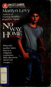 Cover of: No way home