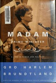 Cover of: Madam Prime Minister