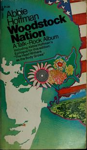 Woodstock nation by Abbie Hoffman