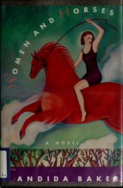 Cover of: Women and horses | Candida Baker