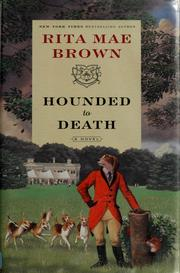 Cover of: Hounded to death: a novel