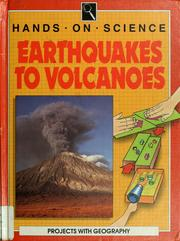Cover of: Earthquakes to volcanoes
