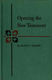 Opening the New Testament