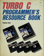 Cover of: Turbo C programmer's resource book