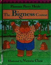 Cover of: The bigness contest