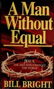 Cover of: A man without equal
