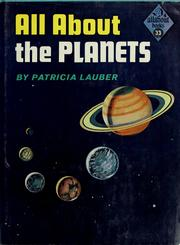 Cover of: All about the planets