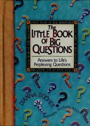 Cover of: The little book of big questions