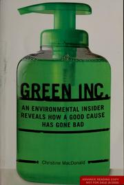 Cover of: Green, Inc