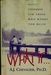 Cover of: What if ...