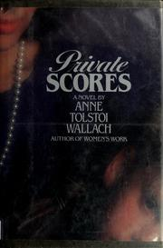 Cover of: Private scores