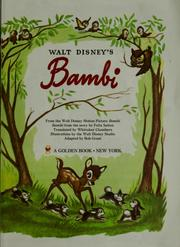 Cover of: Walt Disney's Bambi | Felix Salten