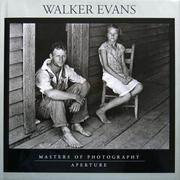 Cover of: Walker Evans (Aperture Masters of Photography)