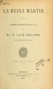 Cover of: La reina mártir