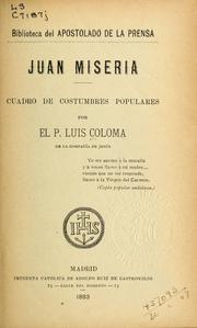 Cover of: Juan Miseria