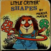 Cover of: Little Critter shapes