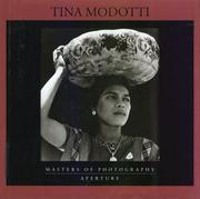 Cover of: Tina Modotti (Aperture Masters of Photography)