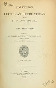 Cover of: Colección de lecturas recreativas 1884