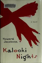 Cover of: Kalooki nights | Howard Jacobson