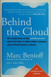 Cover of: Behind the cloud | Marc R. Benioff