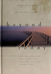 Cover of: Beyond today